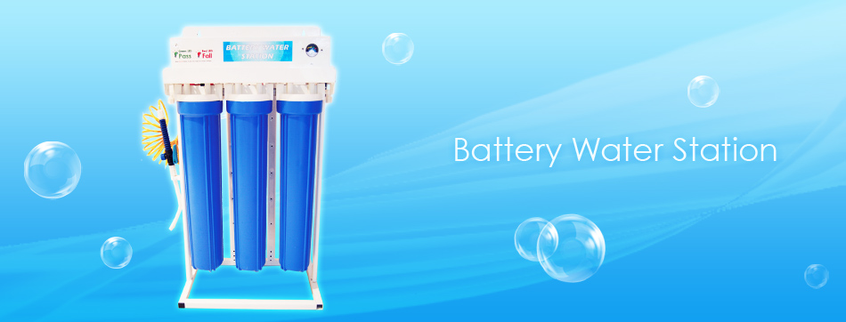 Battery Water Station