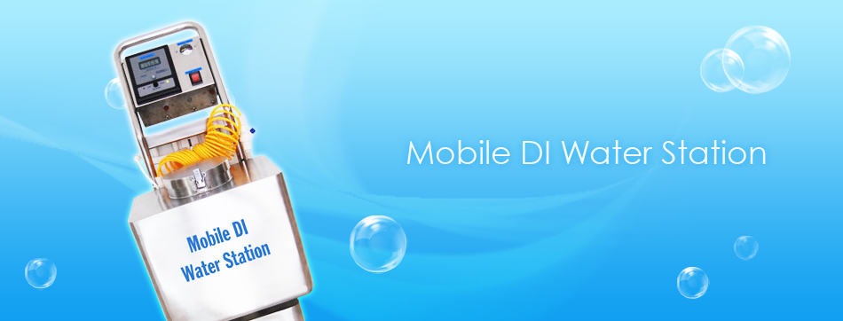 Mobile DI Water Station